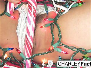 Charley Gets Some Christmas manhood