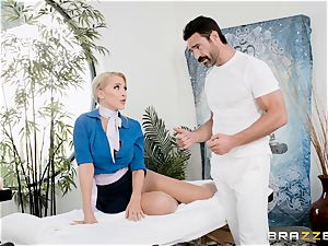 Alix Lynx inserted rock hard