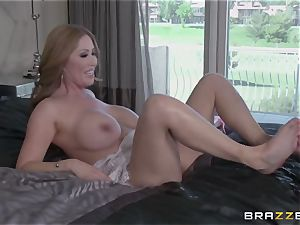 My chinese friend's super hot mature mother Kianna Dior takes my cock