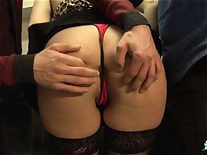 LaCochonne - French Julia Gomez in sizzling anal three-way