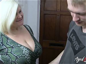 AgedLovE busty Mature Lacey Starr hardcore paramour