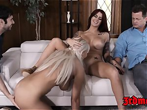 sugary honey Britney Amber fed jism in mesmerizing hump