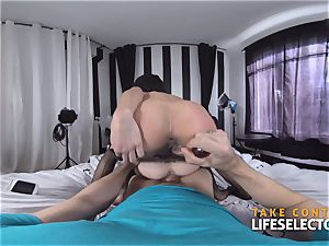 Piper and Holly - diminutive threesome