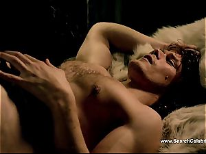 Caitriona Balfe in scorching orgy episode from Outlander