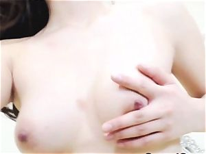 trampy asian woman jack rigid on web cam
