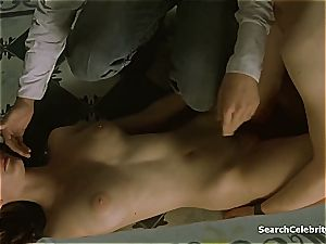 anxious Eva Green has large udders and looks so sexy nude