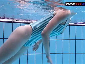 Anetta the sizzling teenager in a spectacular swim-suit