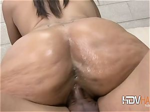 ginormous shaft honeypot creampie for black Alicia taunt