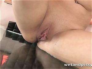 steaming pissing super-bitch is so damn horny