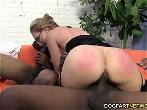 sizzling cougar Jenna Covelli takes two BBC's