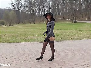 Jeny Smith displaying in public