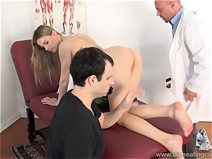 Jillian Gets plumbed By Real fellow in Front of hubby