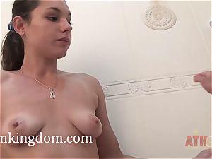 Canella and Camilla have fun with special fucktoys