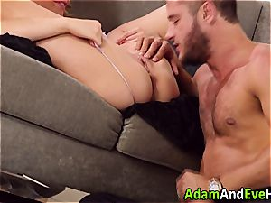 cool couple Mia Malkova and Danny Mountain screwing