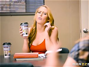 Coffee longing Carter Cruise will do anything