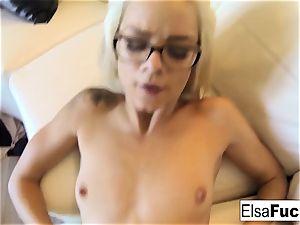 pov pulverize session with Elsa Jean