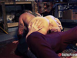 Danny D uses his chisel to bait a succubus